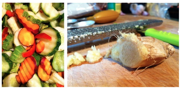 Pickled Vegetables with Ginger