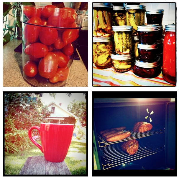 Tomatoes Pickles Coffee Smoker