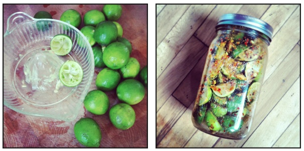 Indian Key Lime Pickle