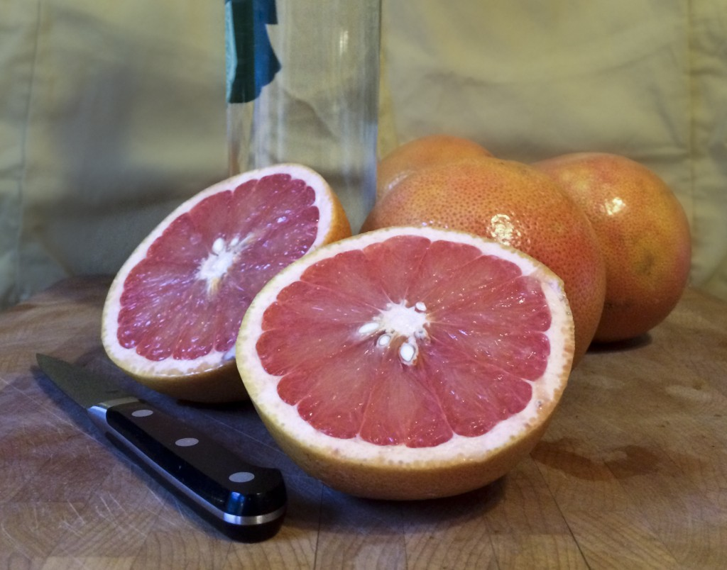 GRAPEFRUIT INFUSED GIN