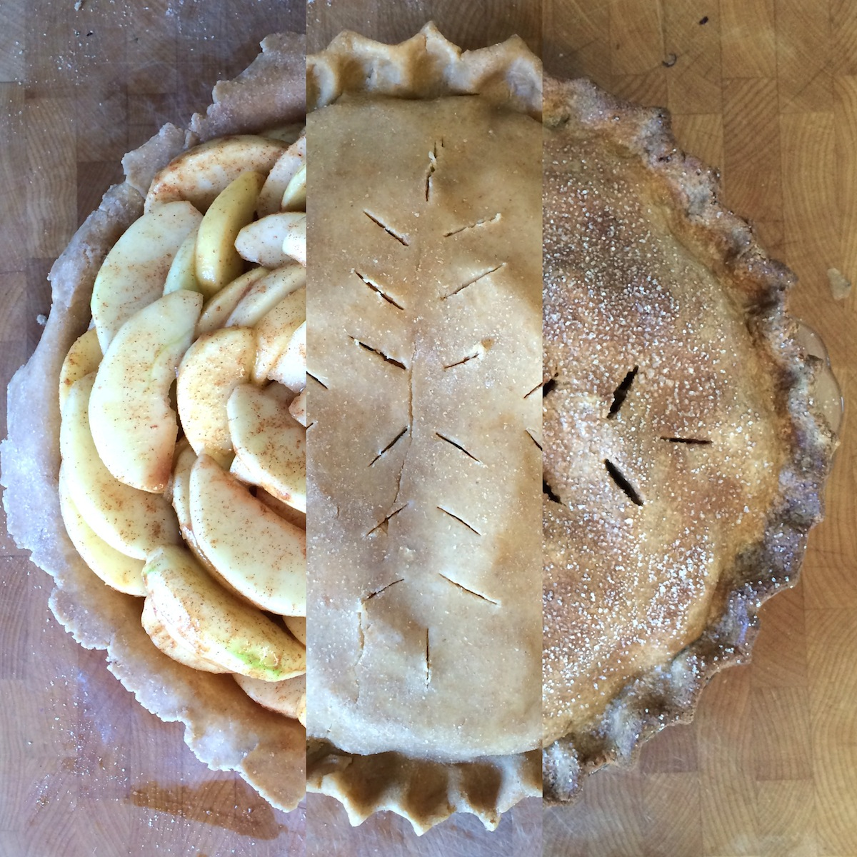 ... on pie crusts one is that the crust should be a neutral vessel that